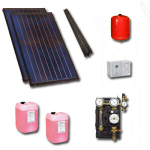 Polar Bear 2 panel solar roof mounted pack with no cylinder-16