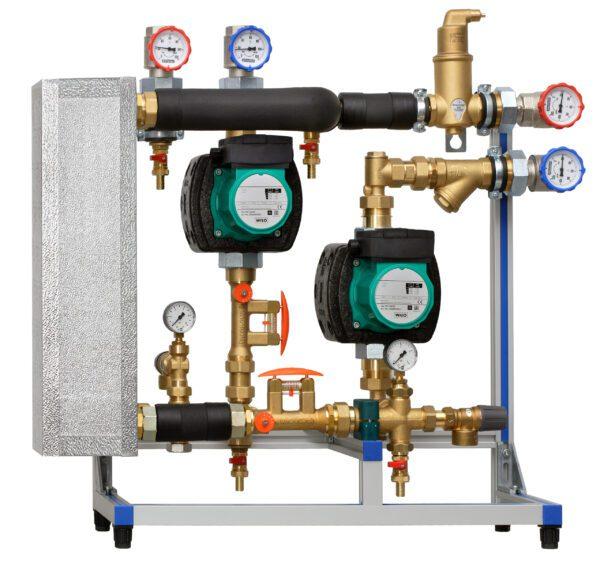 Heat exchanger solar station XXL C/W two pumps (95m2)-506