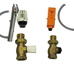 "Heimeier 1"" - 1 1/4""underfloor heating mixing kit SETH -0"