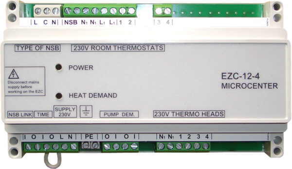 Aquatech Logic wiring centre 24V (1-8 stats) -0