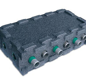 Multi Link Box 6 x 28mm ports, 2 in, 4 out Insulated-0