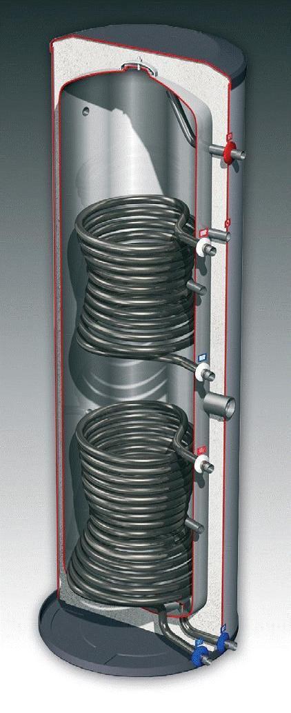 Dejong 500 litre dual coil cylinder-0