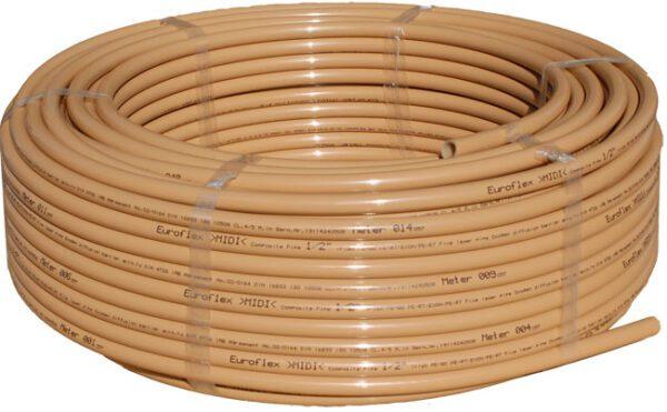 """Euroflex oxygen barrier pipe 1/2"""" x 100 mtrs -0"""