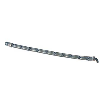 "Polar Bear flexible braided hose 1 1/4"" x 1000mm (elbow) -0"