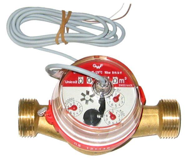 Solar Pulse flow meter 10 L/min (1.5mtr Cable) -0