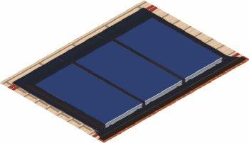 Polar Bear Wunder integrated flashing kit for 2 panels-0