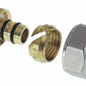 16mm Aquaflow/Polyflow nut, ring and insert-0