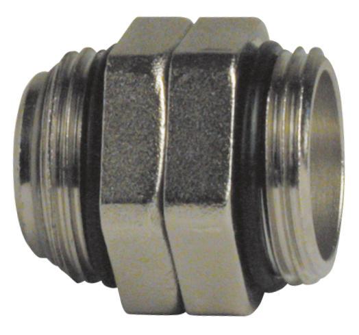 "1"" M/M underfloor heating manifold connector -0"