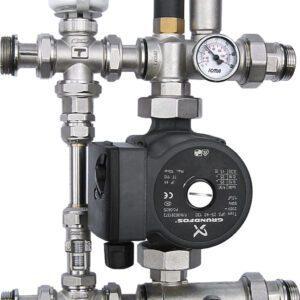 Aquaflow Underfloor mixing set complete-184