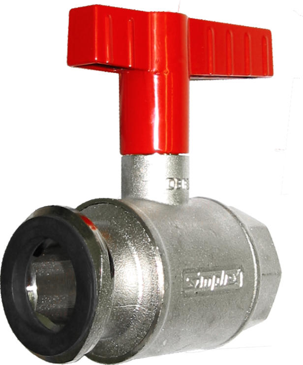 "1"" Polyflow On/Off Butterfly Valve only-0"