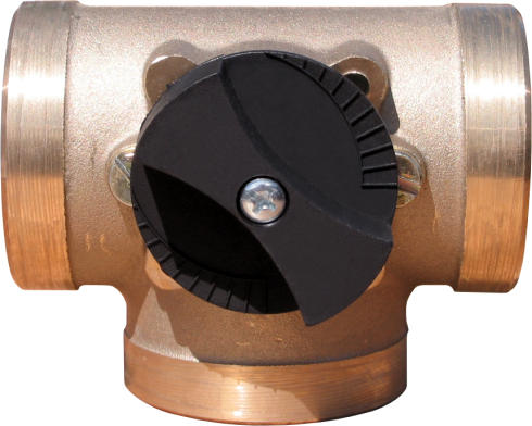 "Minimix 1 1/4"" x 3 port manual mixing valve-0"