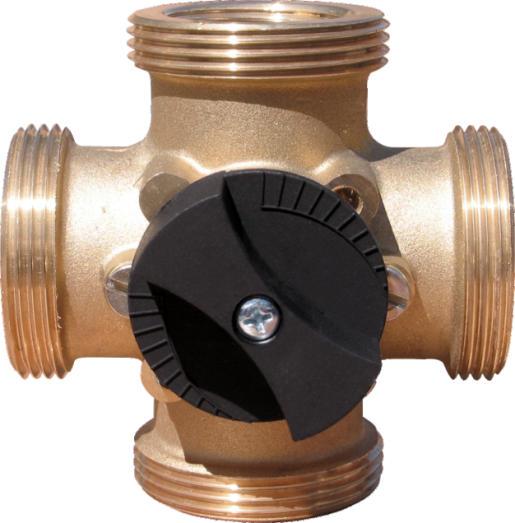 "Minimix 1 1/2"" x 4 port manual mixing valve-0"