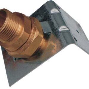 "Gastite 1/2"" termination fitting with bracket -0"
