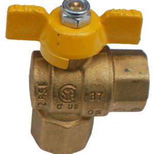 "Gastite 3/4"" 90o gas ball valve-0"