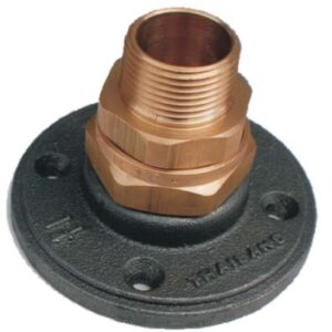 """Gastite 1/2"""" termination fitting with flange -0"""