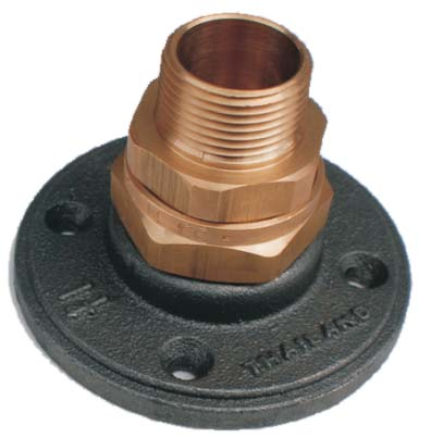 "Gastite 1/2"" termination fitting with flange -0"