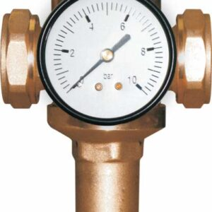 "1/2"" Pressure reducing valve F/F (preset 3 bar) -0"