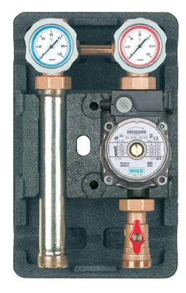 "Direct Circuit heating pumping station 1"" RS 25/40 Pump-0"
