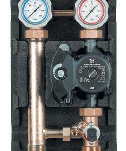 """Heating pump station 3/4"""" - 3 way mech mixer RS 25/40 Pump-0"""