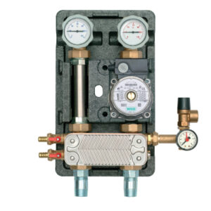 "Split System pump station 1"" - UPS 25/60 Pump 30 Plates 25KW-0"