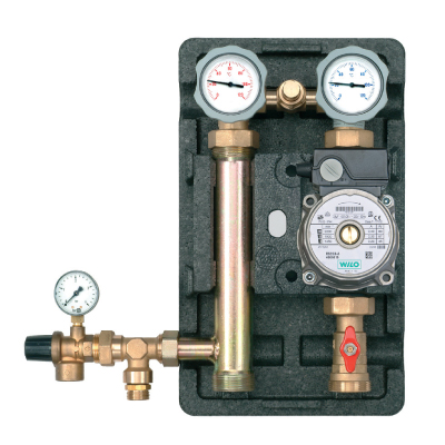 "Heat Pump pumping station direct connection 1"" RS 25/6 Pump-0"