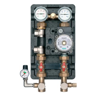 "Heat Pump pumping station via buffer tank 1"" RS 25/6 Pump-0"