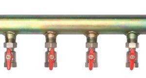 "Brine manifold 4 C/W 1"" isolation outlet valves 1 1/2"" inlet-0"