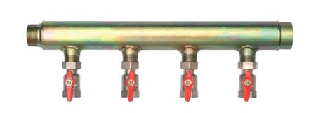 "Brine manifold 6 C/W 1"" isolation outlet valves 1 1/2"" inlet-0"