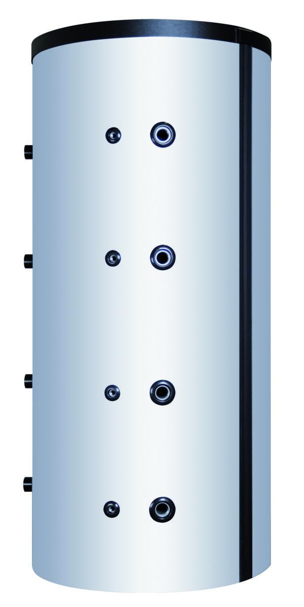 Polar Bear 1500 Ltr buffer cylinder with 2 Coils (100mm Eco Skin Insulation)-0