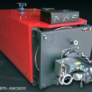 131KW Kroll Waste oil boiler complete with boiler, burner, external fuel delivery system, 4 meters single wall flue-0