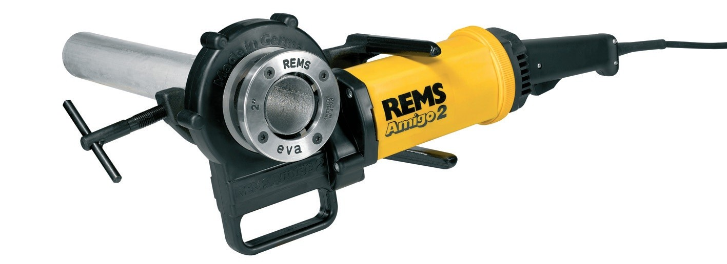 "REMS Amigo 2 electric tool (Complete with 1/2"" - 2"" dies)-0"