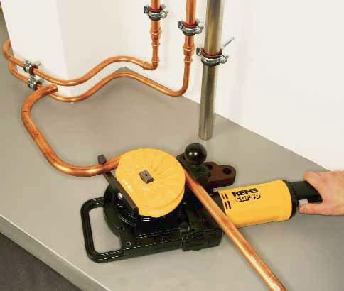 REMS Curvo 32mm Electric Forming Tool-952