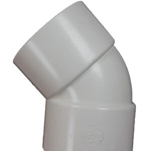 "1 1/2"" Aqua ABS 45o Elbow (40mm) -0"