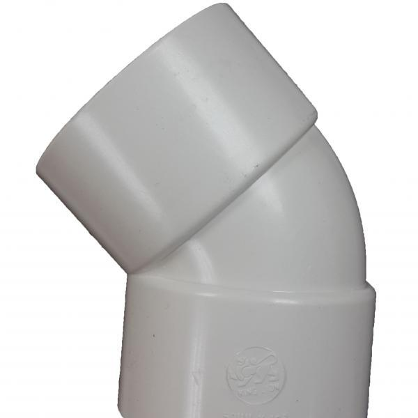 "1 1/2"" Aqua ABS 45o Elbow (40mm) -0"