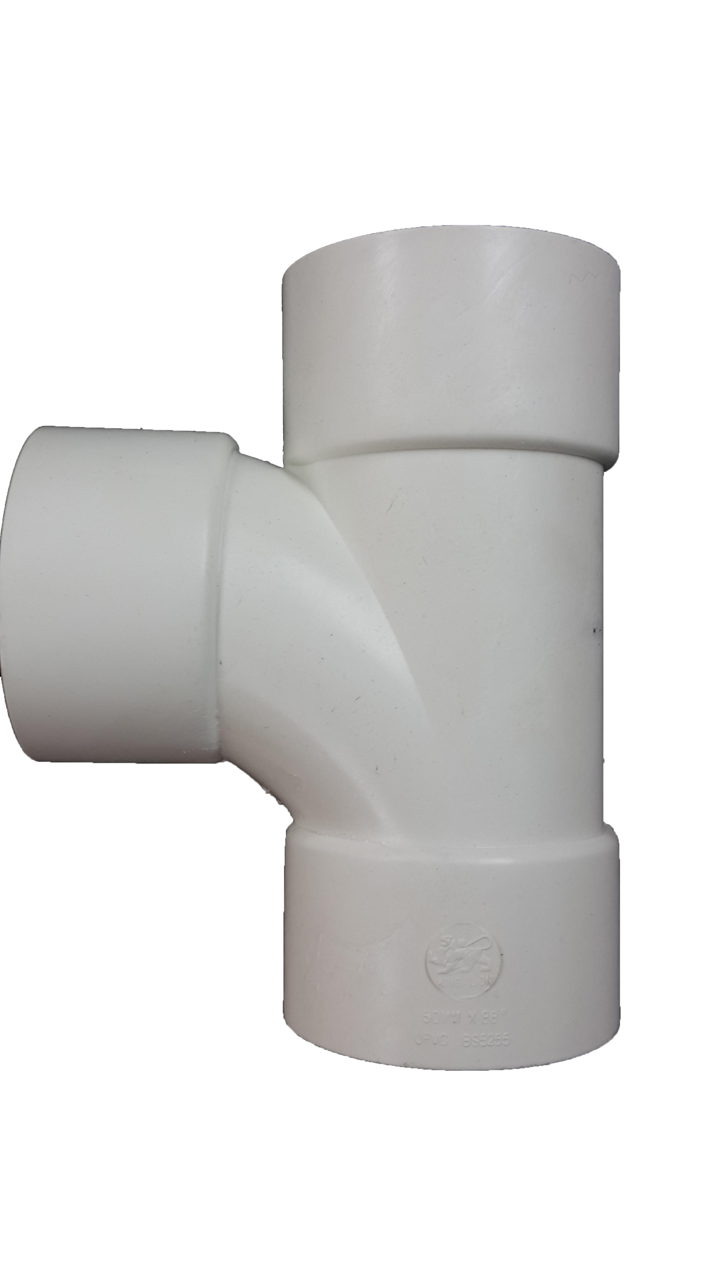 """1 1/4"""" Aqua ABS 88o Tee (32mm) -0"""