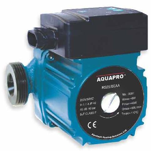 "AQUAPRO RS25/6 EAA 4 - 6 meter head ""A"" rated Pump 130mm-0"